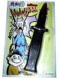Plastik Messer Jux-Messer Klingel verschwindet im Griff